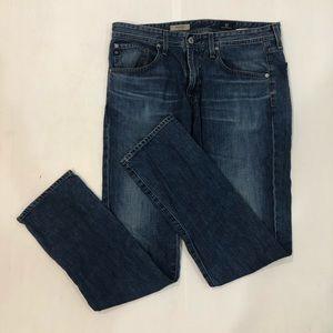 """AG """"Matchbox Slim Straight"""" Men's Jeans 34x34"""